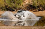 Jeep Splash, 4 wheeling in Arizona, Photography workshop.